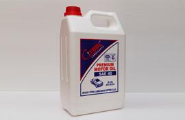 Premium Motor Oil Sae 40