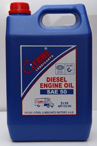 Diesel Engine Oil SAE 50
